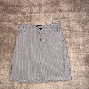 brandy melville striped juliette skirt